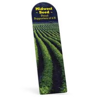 "372861524-183 - Biodegradable Arch Vinyl Plastic Bookmark without Slit (0.015"" Thick) - thumbnail"