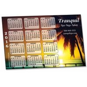 "733729474-183 - HD Resolution Digital Full Color Horizontal Calendar Magnet - Palm Tree (4""x6"") - thumbnail"