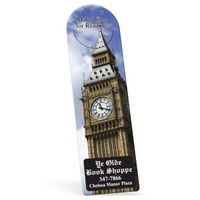 "914675689-183 - Full Color Biodegradable Arch Vinyl Plastic Bookmark w/ Slit (0.015"" Thick) - thumbnail"