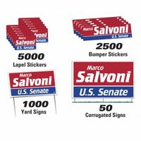 972535917-183 - Political Campaign Kit (1000 Yard/ 50 Corrugated/ 2500 Bumper/ 5000 Lapel) - thumbnail