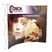 "995048379-183 - 10' Curved Fabric Display (117 1/4""Wx89 1/2""Hx34""D) - thumbnail"