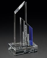 "753930983-182 - Threshold Crystal Award (3""x8""x4"") - thumbnail"