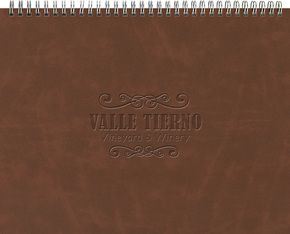 "163321603-197 - The President™ Leather Front Monthly Planner w/ Chip Back (11""x8.5"") - thumbnail"