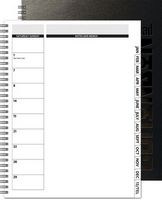 "173769050-197 - TheDirector™ Monthly Planner - Deluxe Front/Chip Back (8.5""x11"") - thumbnail"