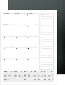 """543318893-197 - TravelerLite™ Leatherette Planner (8.25""""x10.75"""") - thumbnail"""