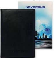 "715587679-197 - Uptown Refillable NoteBook™ w/Full Color Tip-In Page (6.75""x9"") - thumbnail"