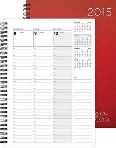 "723318950-197 - WeeklyOrganizer™ Leatherette Organizer (7""x10"") - thumbnail"