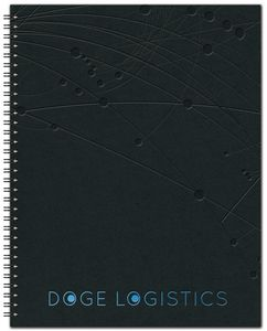 """903319101-197 - The Analyst™ Leather Front Monthly Planner w/Chip Back (8.5""""x11"""") - thumbnail"""