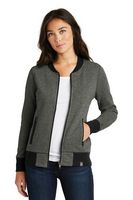 105491471-120 - New Era® Ladies' French Terry Baseball Full-Zip Jacket - thumbnail