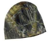 132775119-120 - Port Authority® Camouflage Fleece Beanie Hats - thumbnail