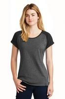 155491228-120 - New Era® Ladies' Heritage Blend Varsity Tee Shirt - thumbnail