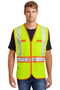 323213518-120 - Cornerstone® ANSI 107 Class 2 Dual-Color Safety Vest - thumbnail