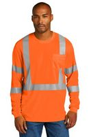 366377445-120 - CornerStone® ANSI 107 Class 3 Mesh Long Sleeve Tee - thumbnail