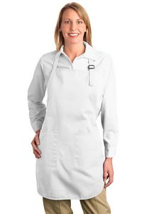 372091105-120 - Port Authority® Full Length Apron w/Pouch Pocket - thumbnail