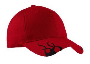 502153484-120 - Port Authority® Racing Cap w/Flames - thumbnail