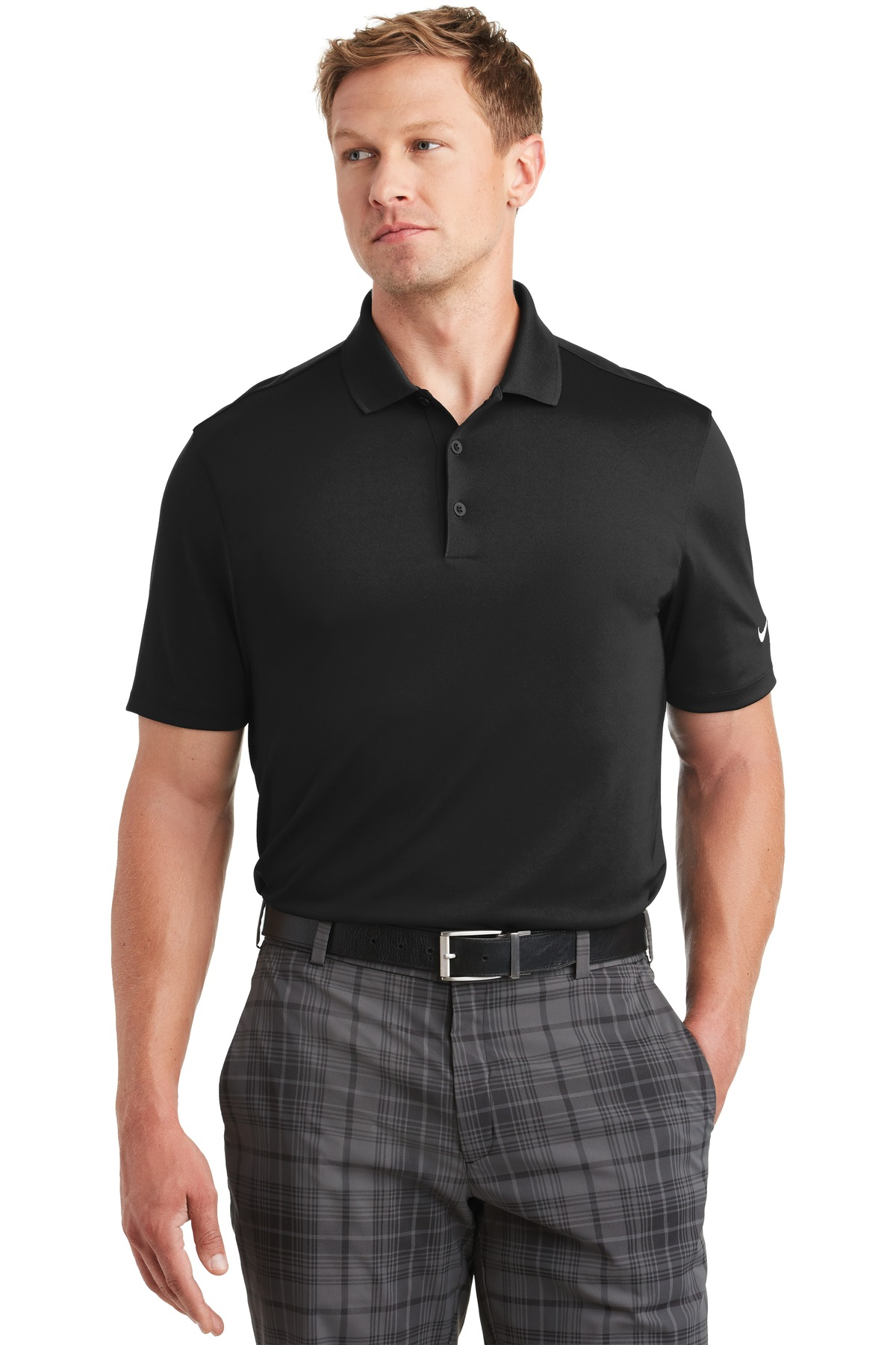 705342876-120 - Nike Golf Dri-FIT Players Polo w/ Flat Knit Collar - thumbnail