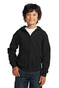 713925459-120 - Gildan® Youth Heavy Blend™ Full-Zip Hooded Sweatshirt - thumbnail