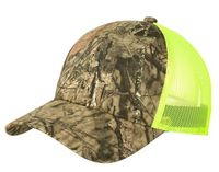 715161879-120 - Port Authority® Structured Camouflage Mesh Back Cap - thumbnail