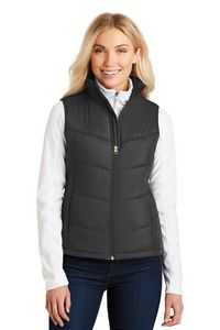 763335260-120 - Port Authority® Ladies' Puffy Vest - thumbnail