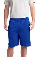 903707781-120 - Sport-Tek® Men's PosiCharge® Tough Mesh Pocket Shorts - thumbnail