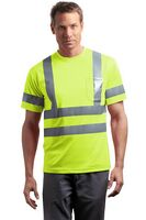 913213443-120 - Cornerstone® ANSI 107 Class 3 Short Sleeve Snag-Resistant Reflective T-Shirt - thumbnail