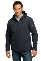 923335184-120 - Port Authority® Men's Textured Hooded Soft Shell Jacket - thumbnail