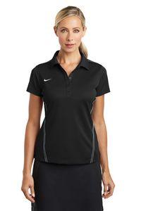 973927858-120 - Nike Golf Ladies' Dri-Fit Sport Swoosh Pique Polo Shirt - thumbnail