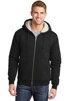 974887965-120 - Cornerstone® Men's Heavyweight Sherpa-Lined Hooded Fleece Jacket - thumbnail