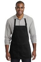 975929633-120 - Port Authority Medium-Length Two-Pocket Bib Apron - thumbnail