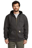 985955546-120 - Carhartt® Rain Defender® Rutland Thermal-Lined Hooded Zip-Front Sweatshirt - thumbnail
