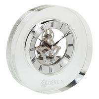 143874485-184 - Olbia Crystal Desk Clock - thumbnail