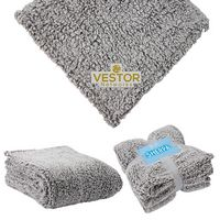 "346084162-184 - St. Cloud 50"" x 60"" Frosted Sherpa Blanket - thumbnail"
