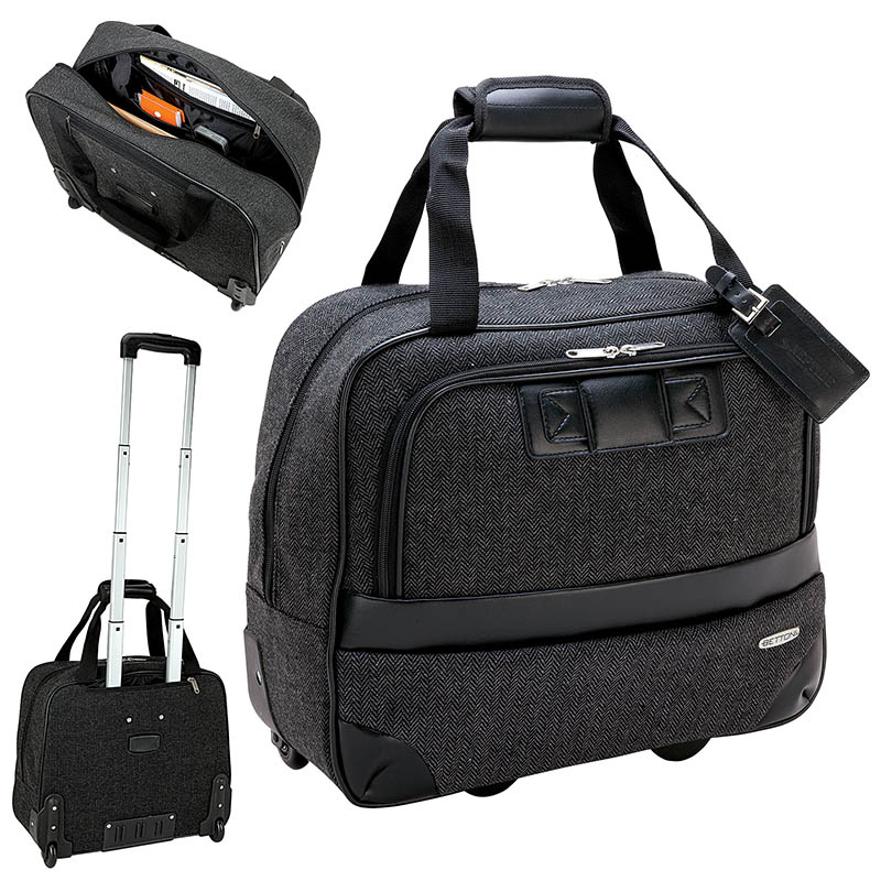 354474195-184 -  Bettoni Rolling Executive Travel Case - thumbnail