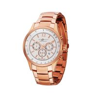 375278411-184 - Watch Creations Men's Chronograph Watch w/Rose Gold Finish & Date Display - thumbnail