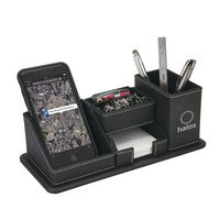 525456362-184 - Oxford Desk Organizer w/Phone Holder - thumbnail