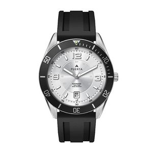 """556501811-184 - Wc8230 42mm Steel Silver Case, 3 Hand """"Automatic"""" Mvmt, Silver Dial, Dte Display, Bk Rotating Bezel, - thumbnail"""