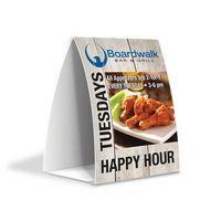 "595914722-184 - PaperSplash 4"" x 6"" Tent Table Talker - thumbnail"
