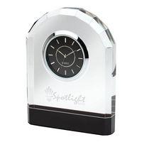 716128109-184 - Pomezia Crystal Desk Clock - thumbnail