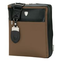 725815230-184 -  Lamborghini Light Brown Shoulder Bag - thumbnail