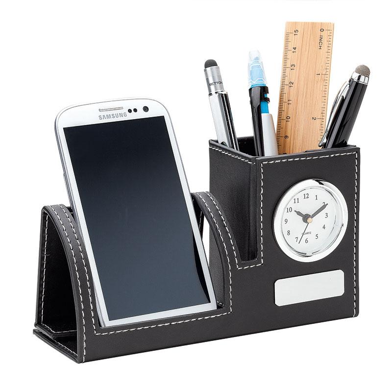 764295674-184 - Bardo Clock, Phone Holder & Pen Cup - thumbnail
