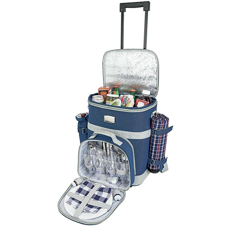 774474136-184 - Haywood 4 Person Trolley Picnic Bag - thumbnail