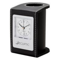 983874665-184 - Alba Desk Clock & Pen Cup - thumbnail