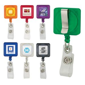 992167875-184 - Divo Badge Holder with Clip - thumbnail