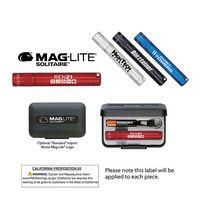 133398522-819 - K3A Mag-Lite® Solitaire Flashlight w/ 1 AAA Battery (Laser Engraved) - thumbnail
