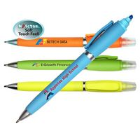 166161720-819 - Halcyon 2 in 1 Pen/Highlighter, Full Color Digital - thumbnail