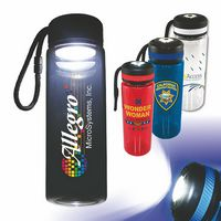 326023430-819 - 25 oz. Tritan™ Bottle with Flashlight Cap, Full Color Digital - thumbnail