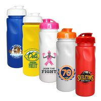 326347760-819 - 24 oz. Cycle Bottle with Flip Top Cap, Full Color Digital - thumbnail