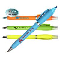 336161718-819 - Halcyon 2 in 1 Pen/Highlighter - thumbnail