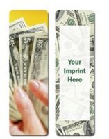 363174993-819 - Financial Stock Full Color Digital Printed Bookmark - thumbnail