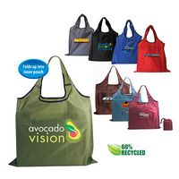 383167904-819 - RPET Fold Away Carryall Tote Bag (Full Color Digital) - thumbnail